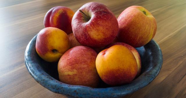 Äpfel statt Süßigkeiten