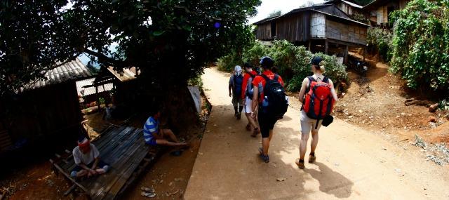 trekking thailand